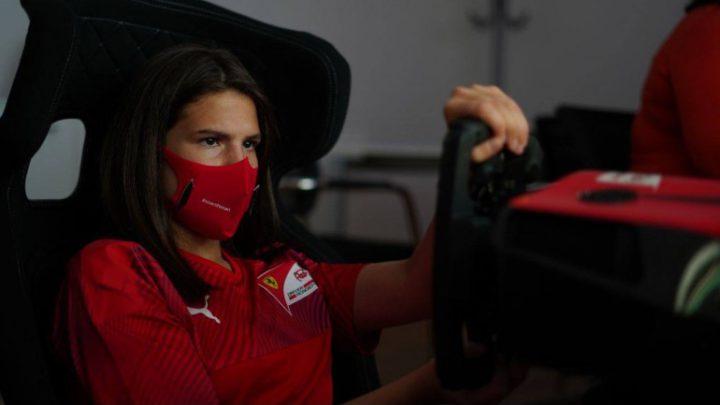 Mais nova entre as finalistas, Antonella Bassani ressalta participação na Seletiva da FIA e Ferrari