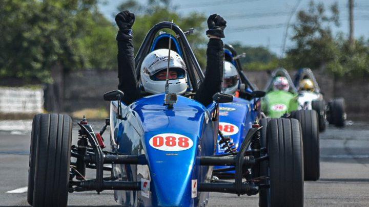 Gerson Zarpelão Jr e Augusto Santin são os campeões da Copa ECPA de Fórmula Vee