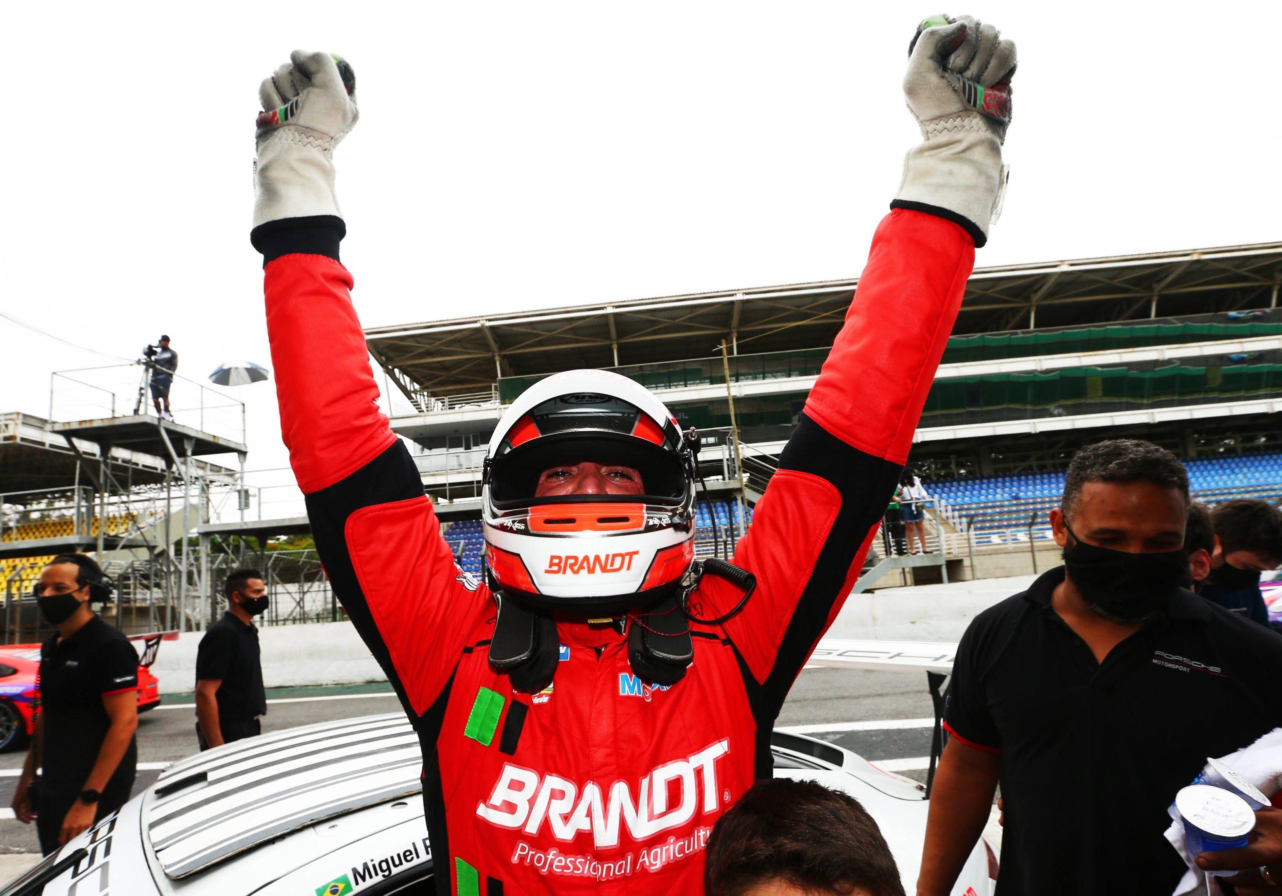 Miguel Paludo retorna à NASCAR para três etapas em circuito misto com patrocínio da BRANDT